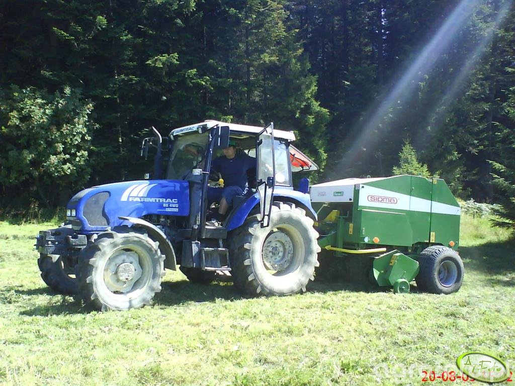 Farmtrac 80 4WD + Sipma