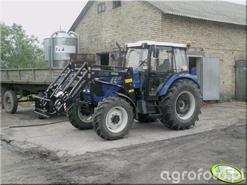 Farmtrac 80 4WD + Hydrometal At10