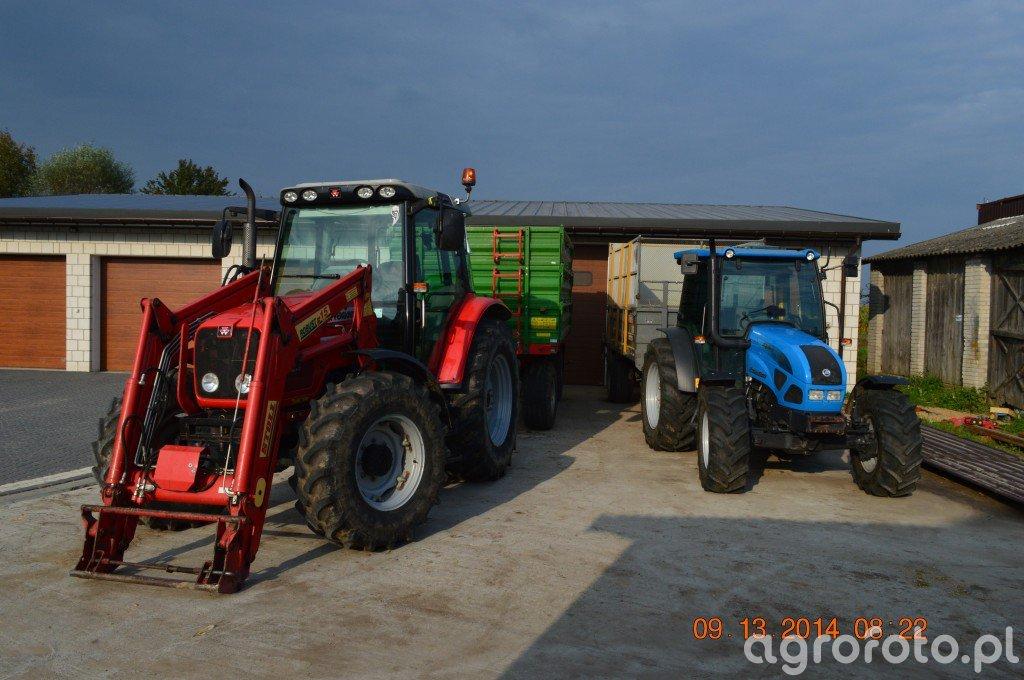 MF5435 & Landini 70