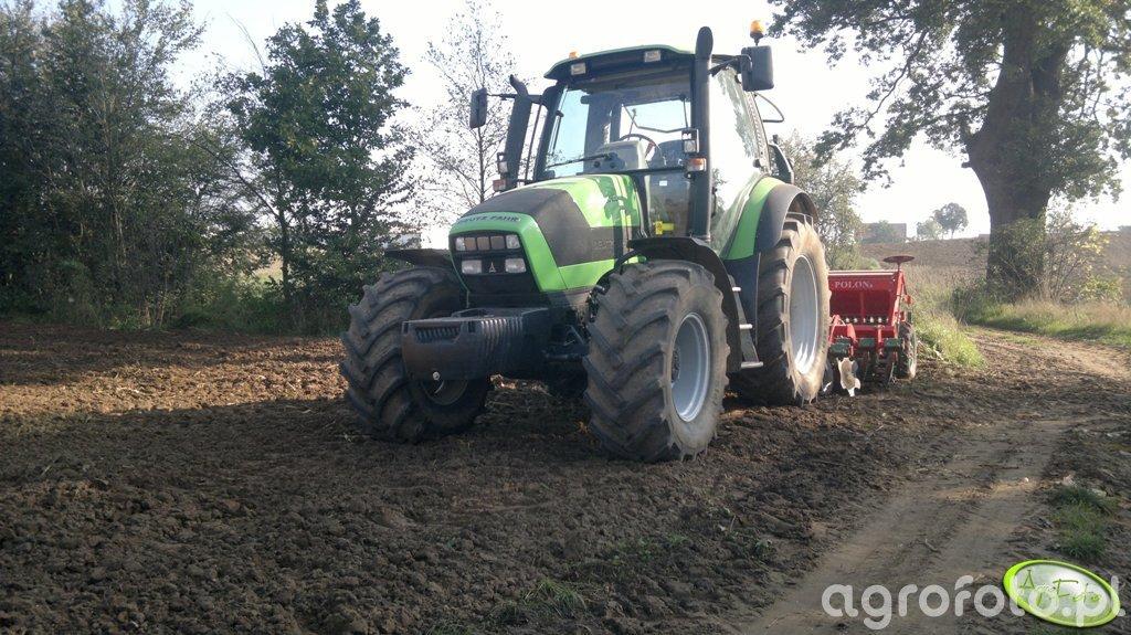 Deutz-Fahr Agrotron 150 & Unia Ares TL + Polonez