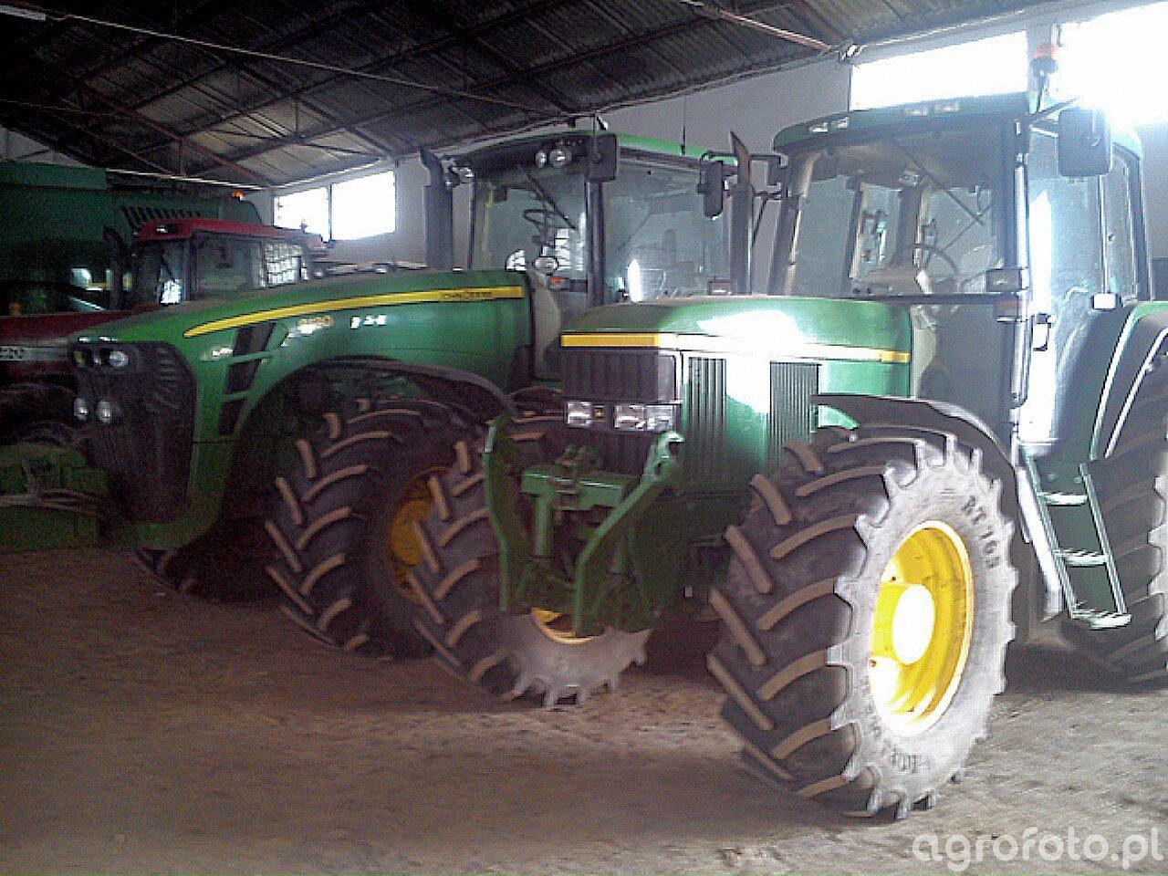 John Deere 6910 i 8130