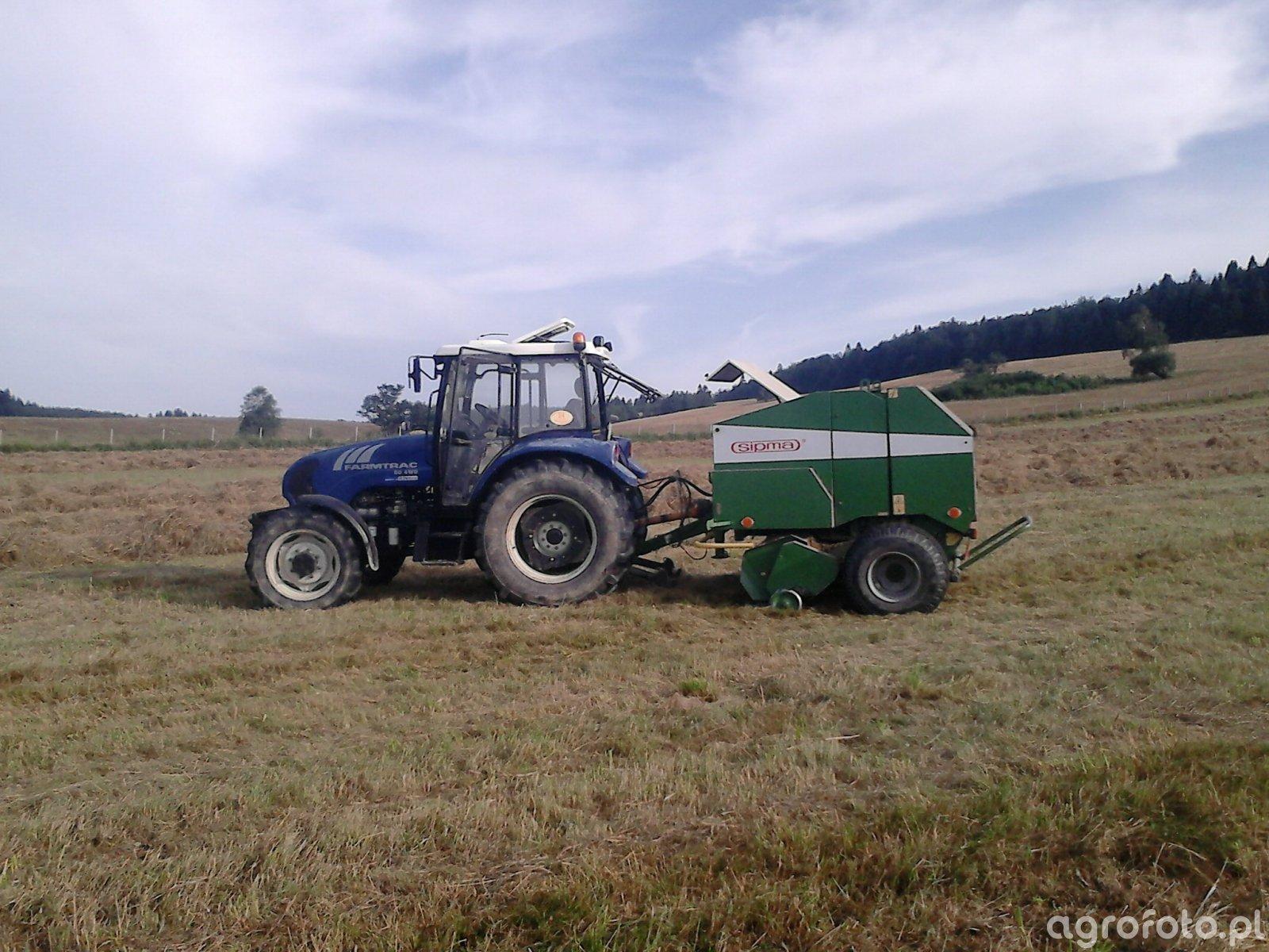 Farmtrac 80 4wd+Sipma Farma II