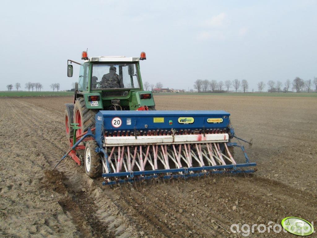 Fendt Farmer 306 LSA + Mailleux i Rolmasz Kutno Ares L/S + Rolmasz Kutno Polonez S078