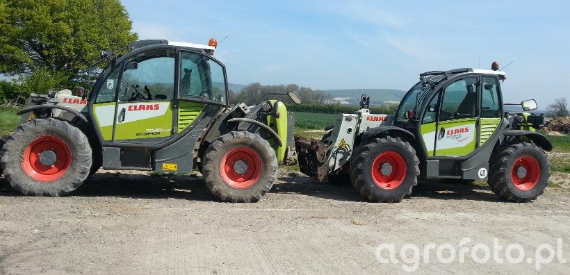 Claas 7045 and 7035