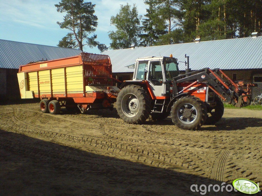 MF 1014 + Krone Turbo 6000