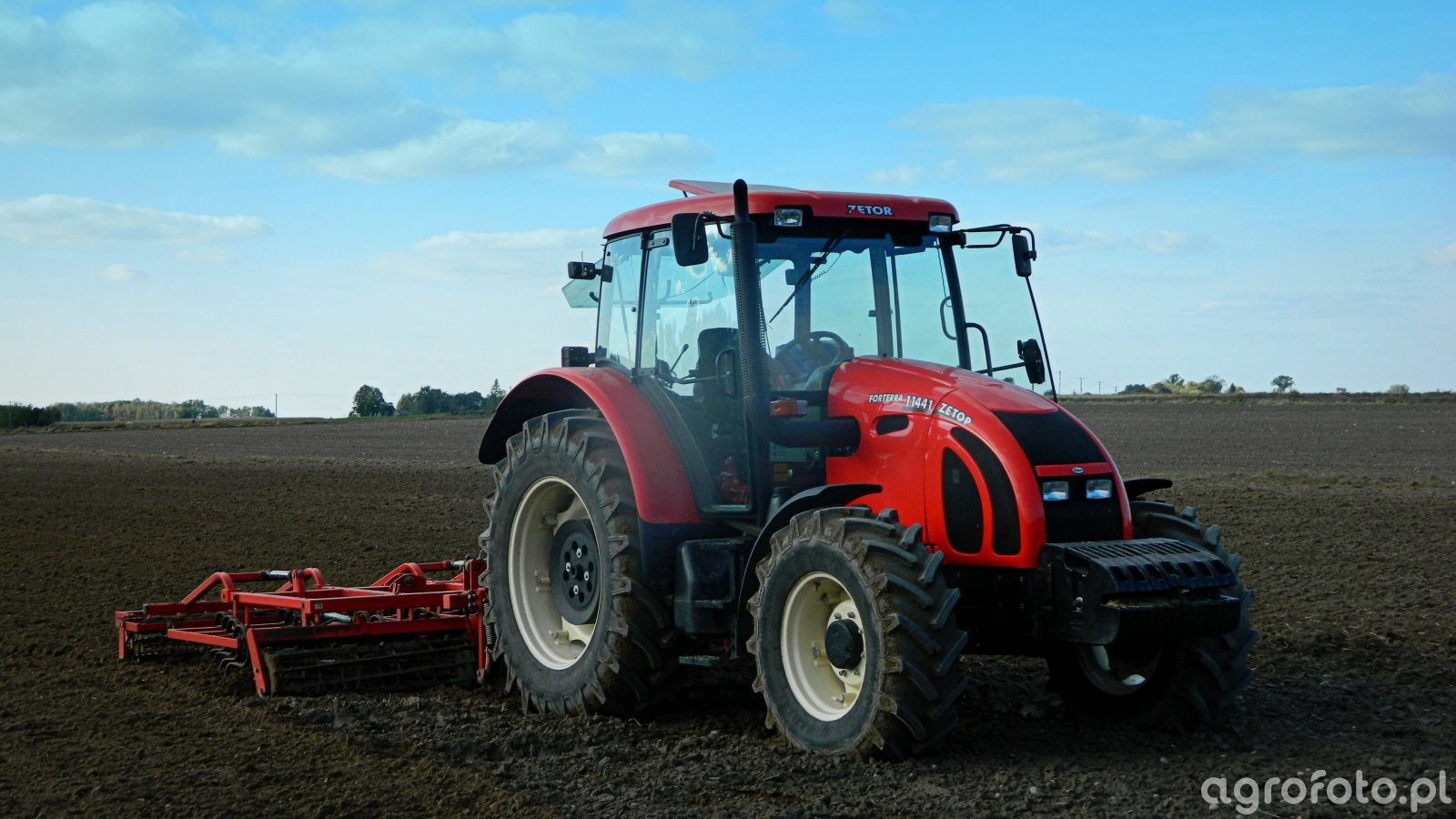 Zetor 11441 Forterra + Agro-Masz AU42