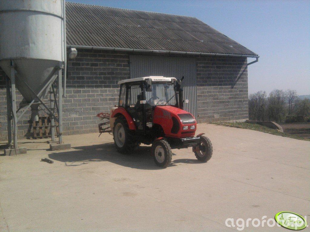 Farmtrac 535 + Opryskiwacz