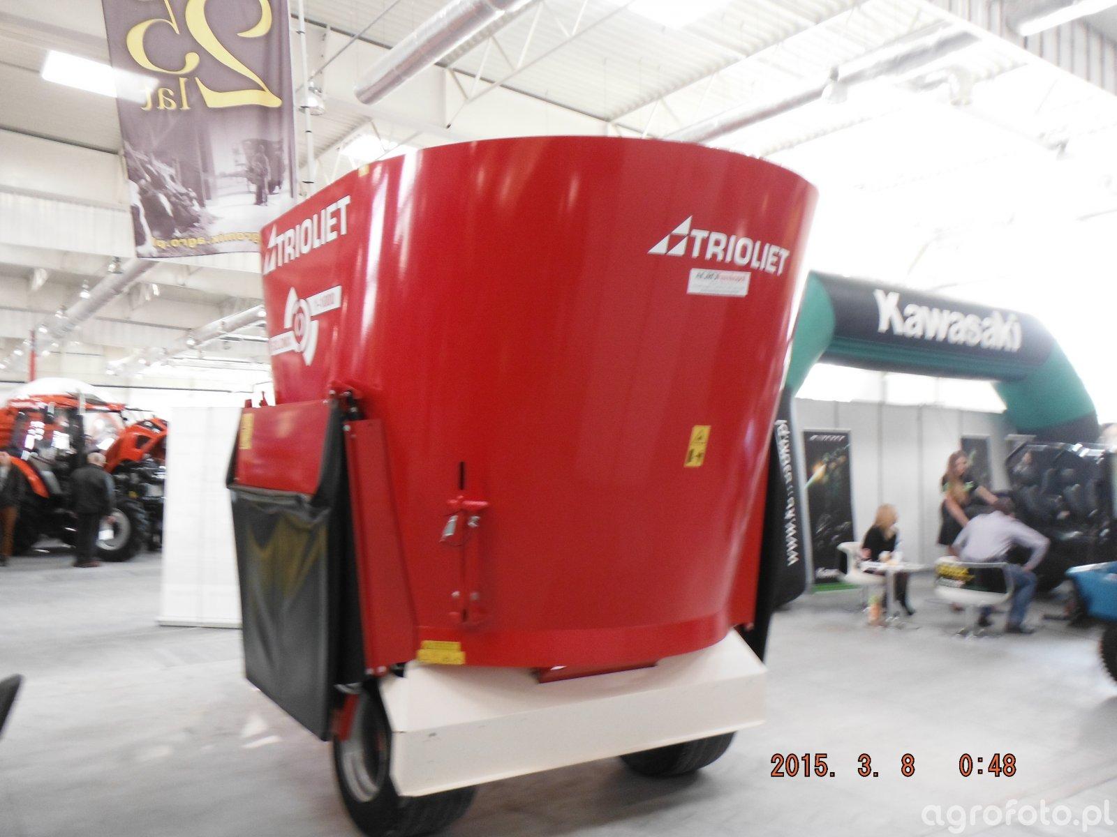 Wóz paszowy Trioliet