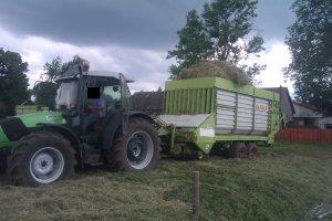DF Agrofarm 430 & Claas Sprint 330 S