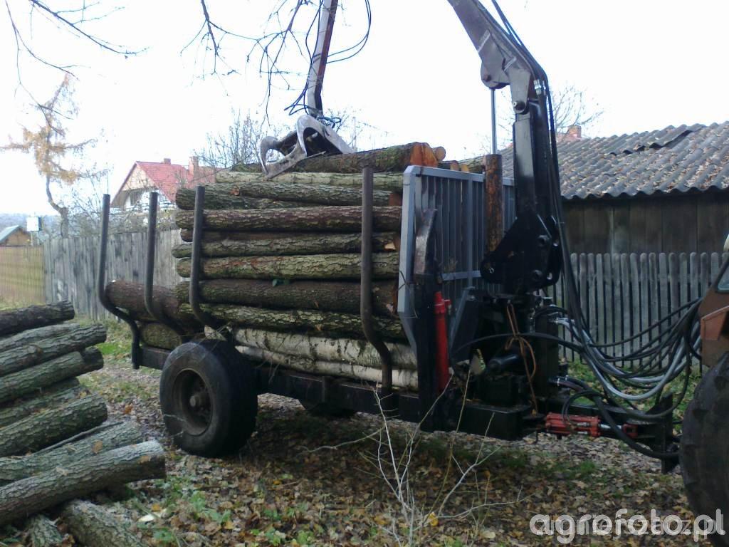 Przyczepa lesna SAM