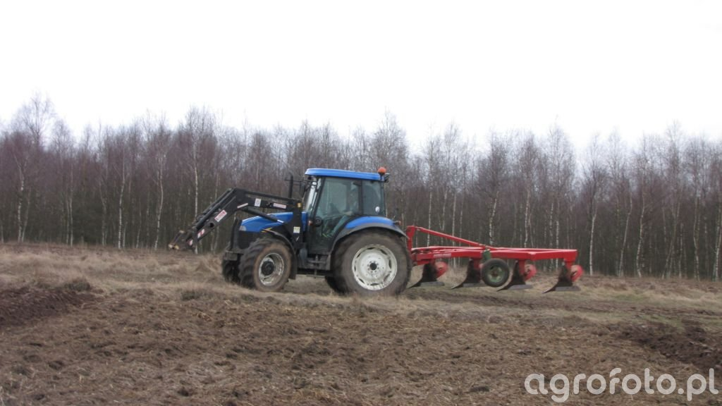 New Holland TD5030 & Agromasz 4*40