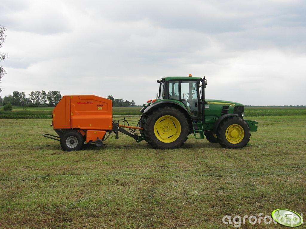 John Deere 6530 + Warfama Z543