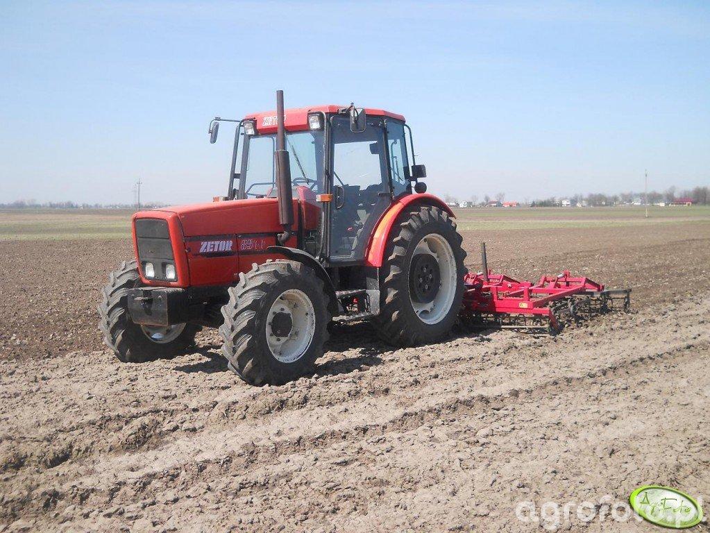 Zetor 8540 + Agrofactory