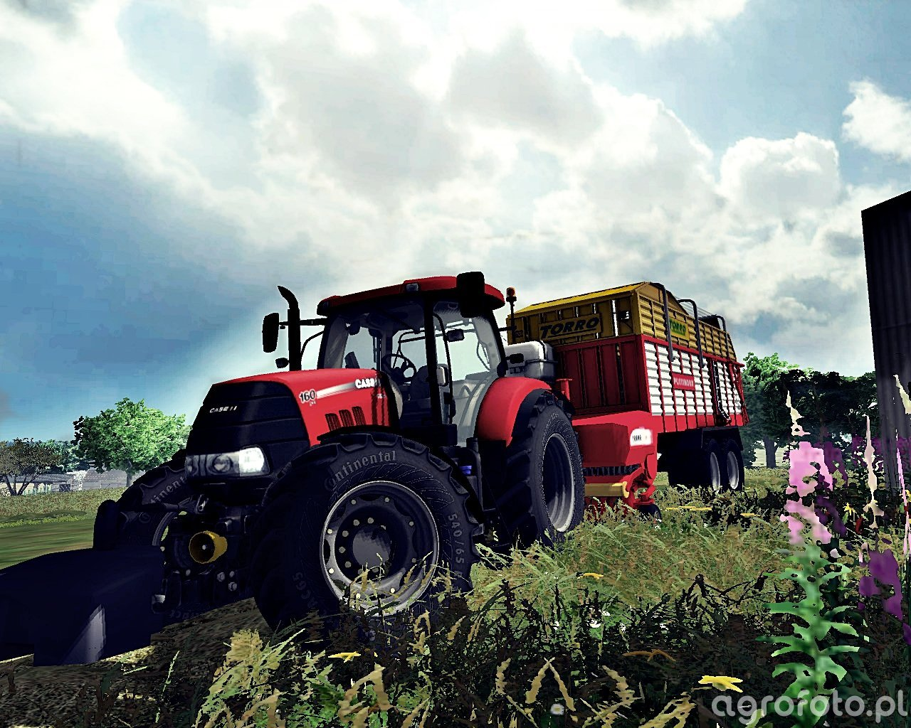Case Puma CVX 160 & Pottinger TORRO 5700