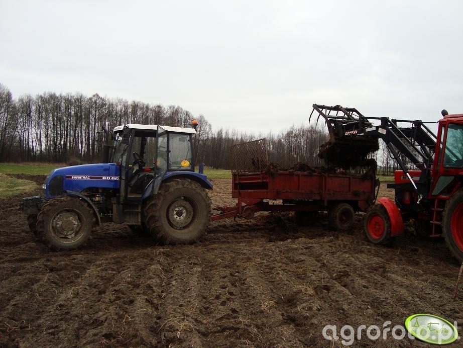 Farmtrac 80 4WD + MTZ82