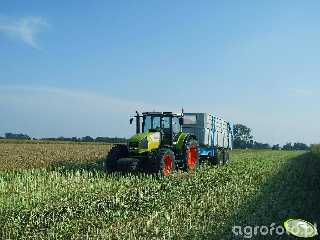 Claas Ares 826rz + Tandem