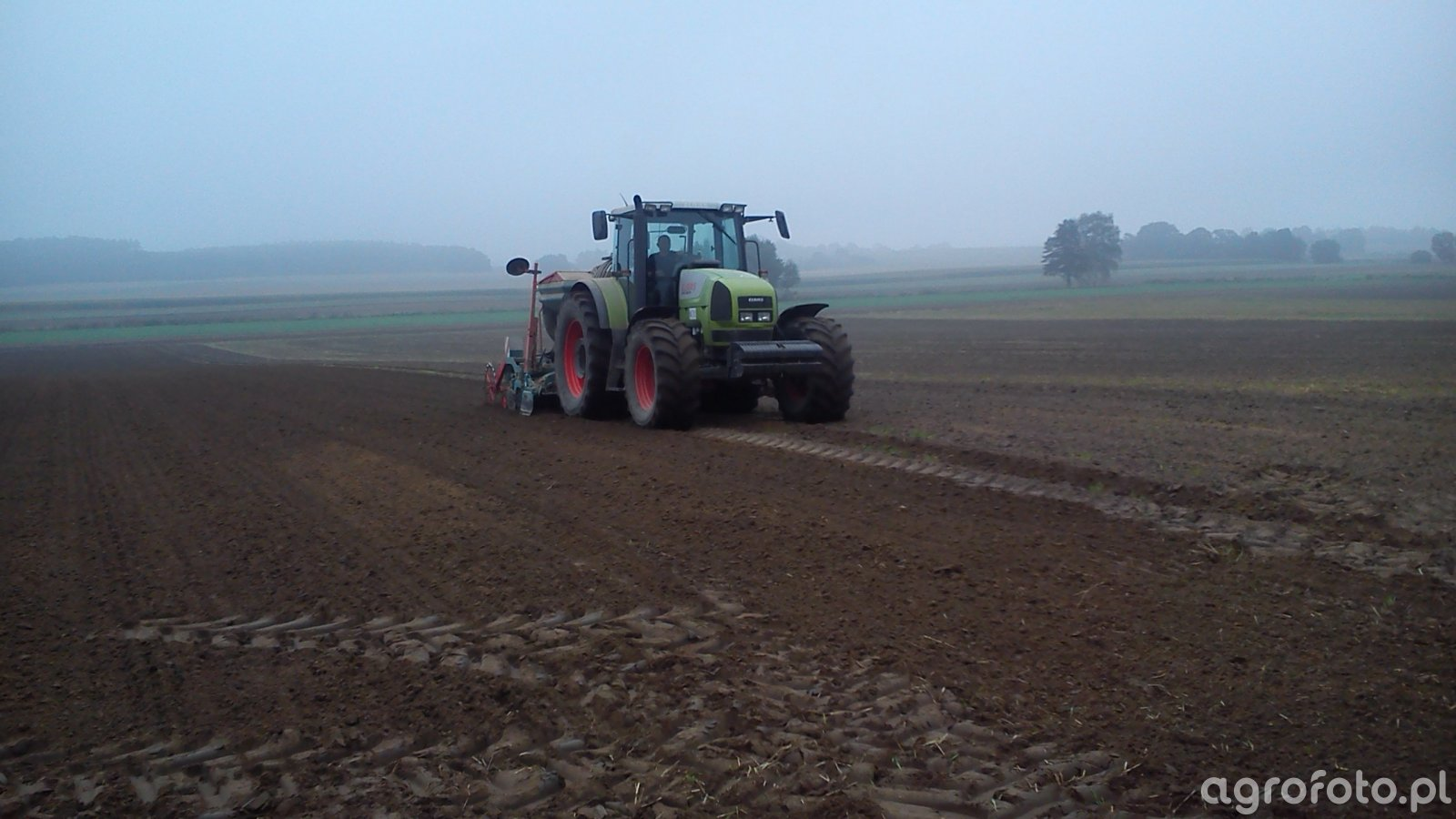 Claas Ares 836RZ i SULKY XEOS PRO