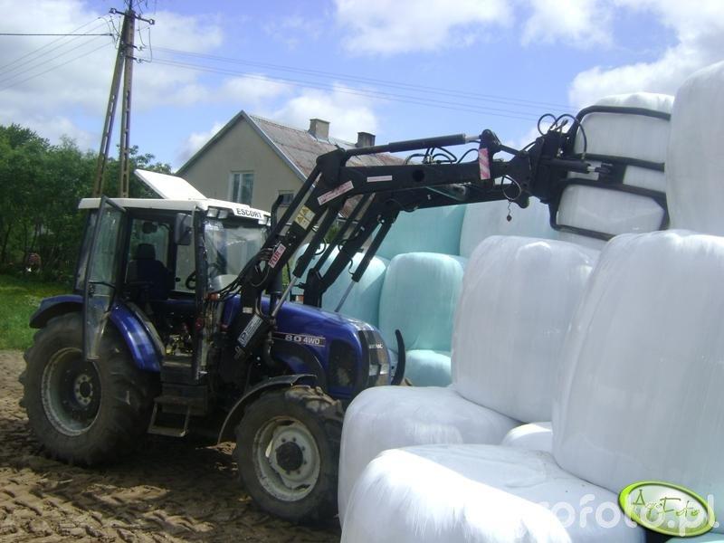 Farmtrac 80 4WD + Tur4