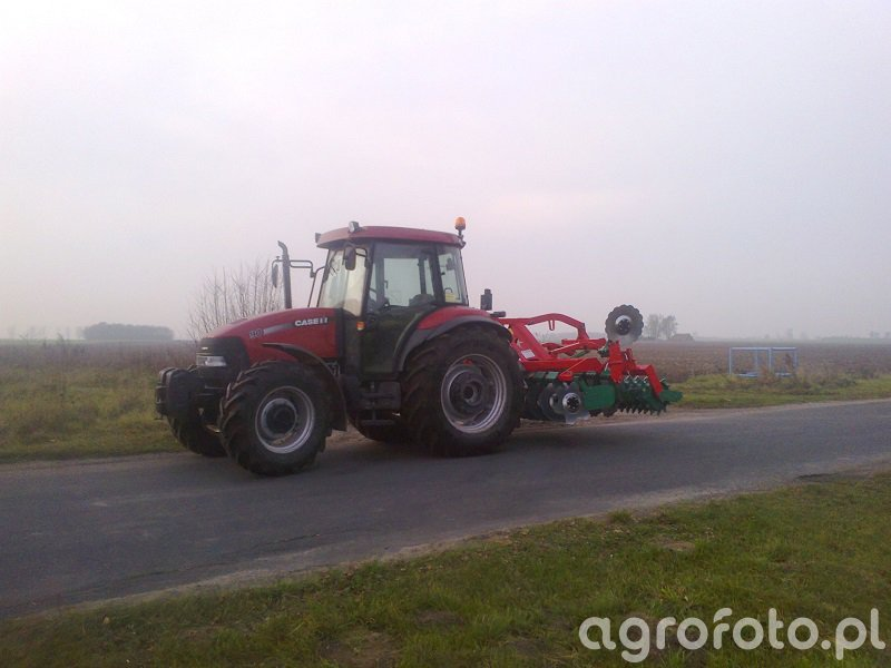 Case JX90 + Agro Masz