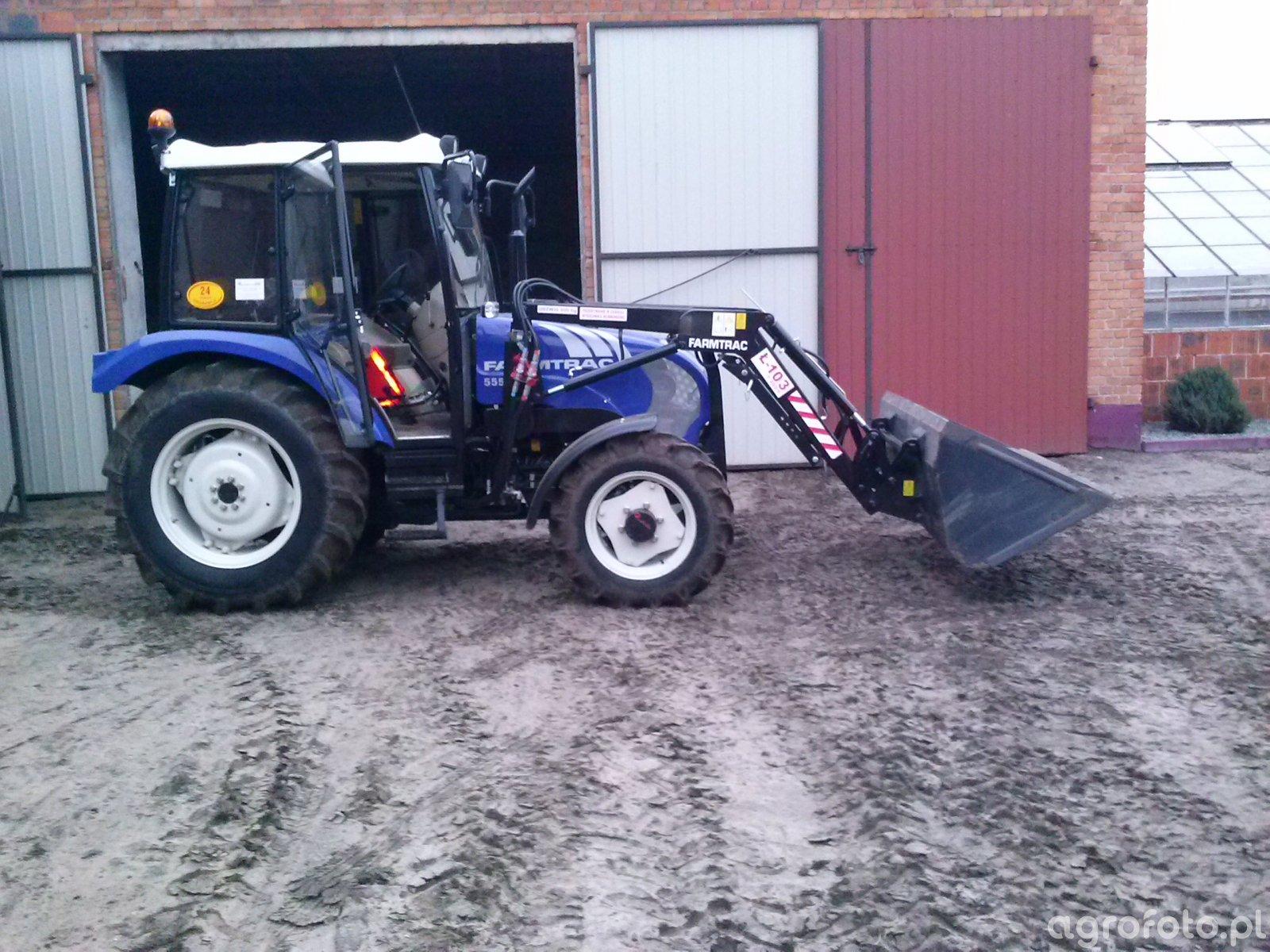 Farmtrac 555DT