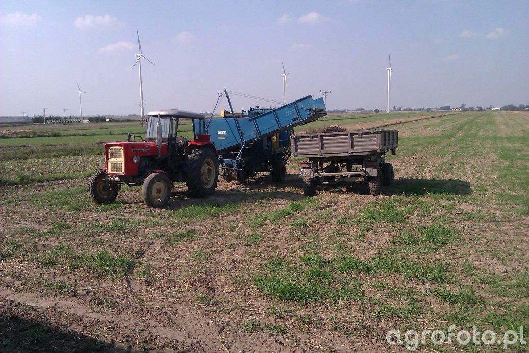 Ursus C-360 & Kombajn Ziemniaczany Anna Z644 & Autosan D47 B