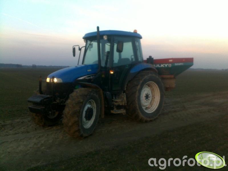 New Holland TD75D + Sulky 1500