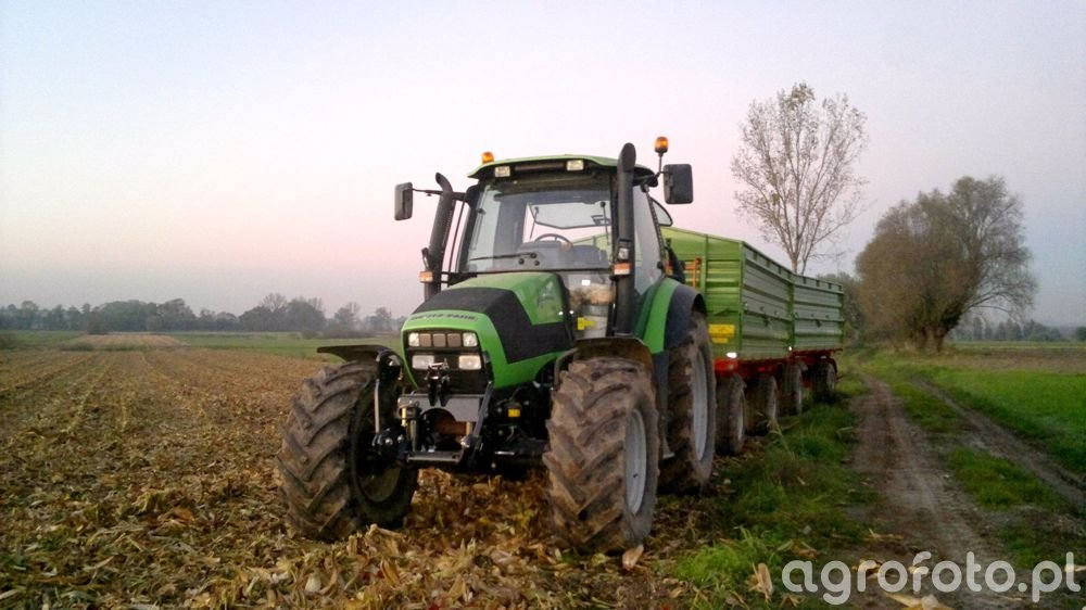 Deutz-Fahr Agrotron 150 & Pronar T672/1 X2