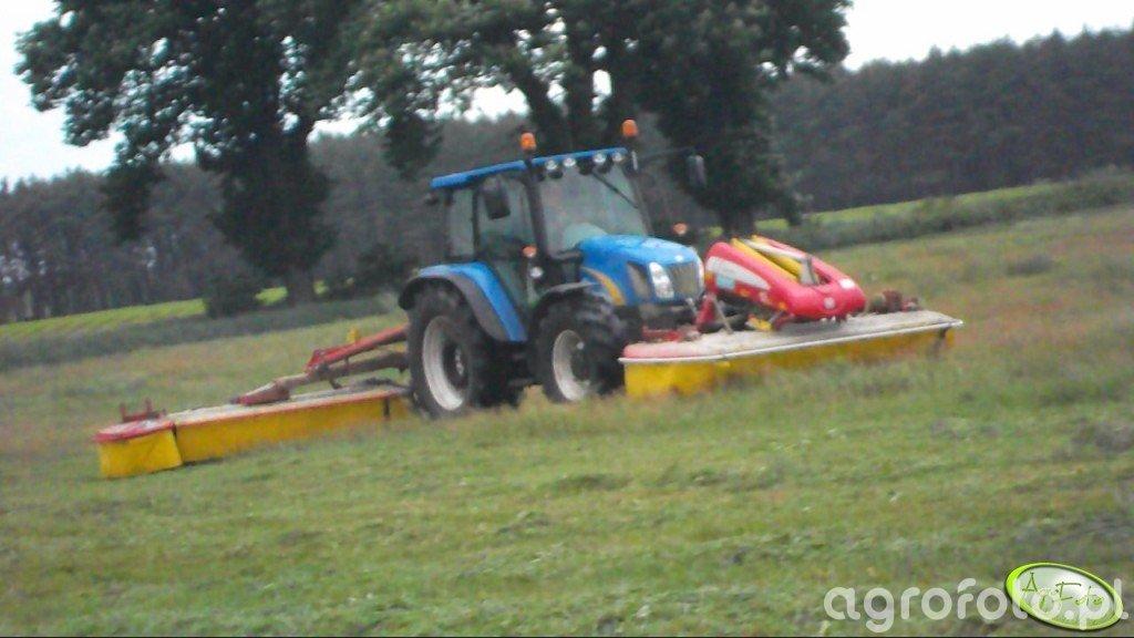 New Holland T5070 & Pottinger