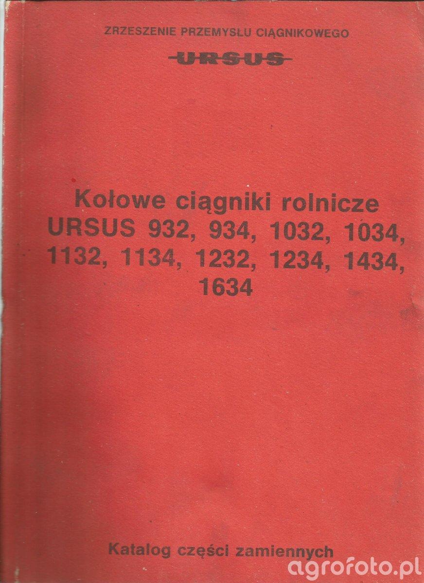 Katalog częsci Ursus 932-1634