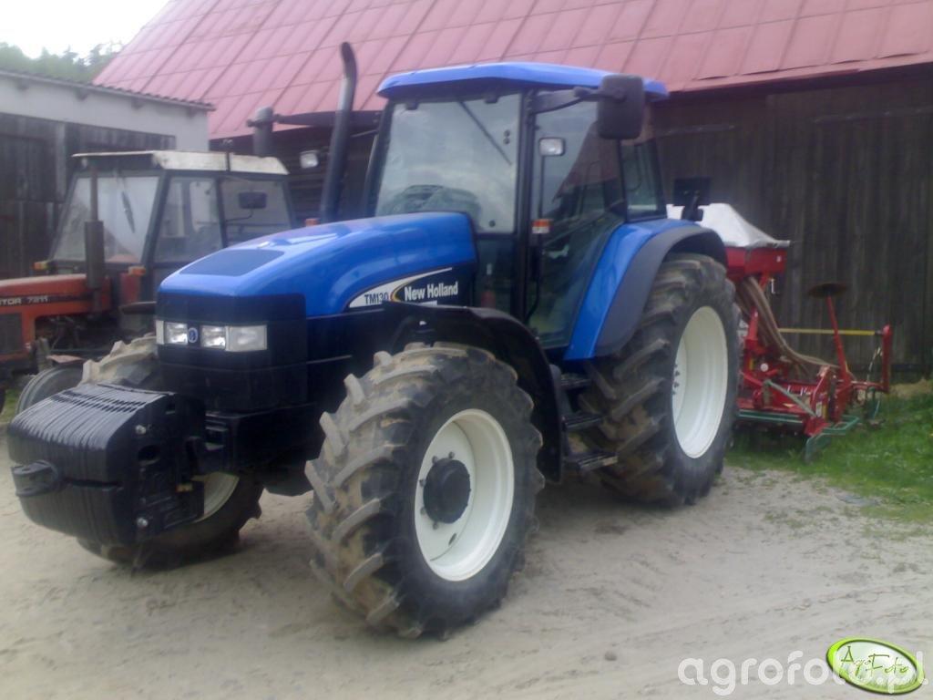New Holland TM130 +ACCORD 3m