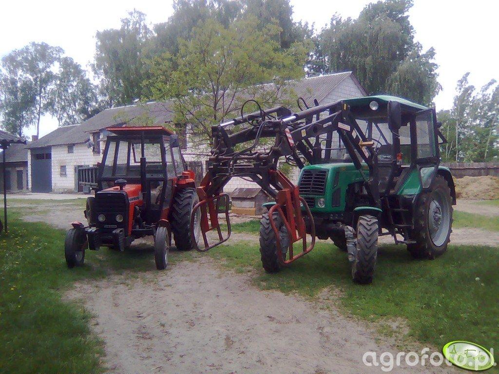 Belarus 820+TUR 6 & Ursus 3512+D-47