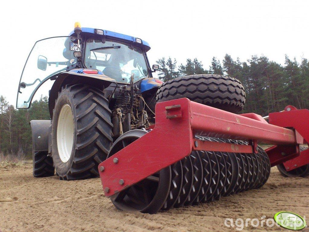 New Holland T6050 PLUS + wałki