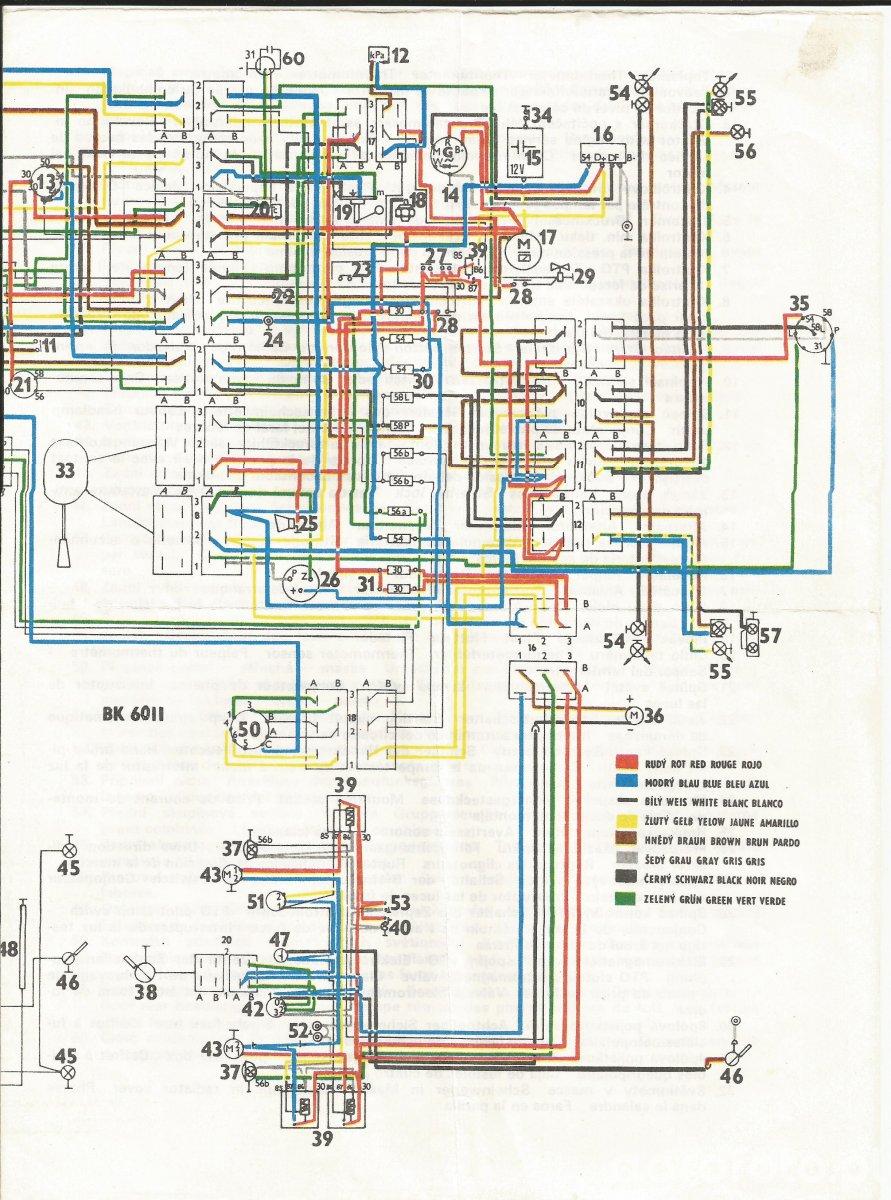 Schemat instalacji Zetor serii x2xx z kabina cz.2