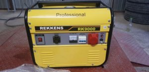 Agregat Rekkens RK9000