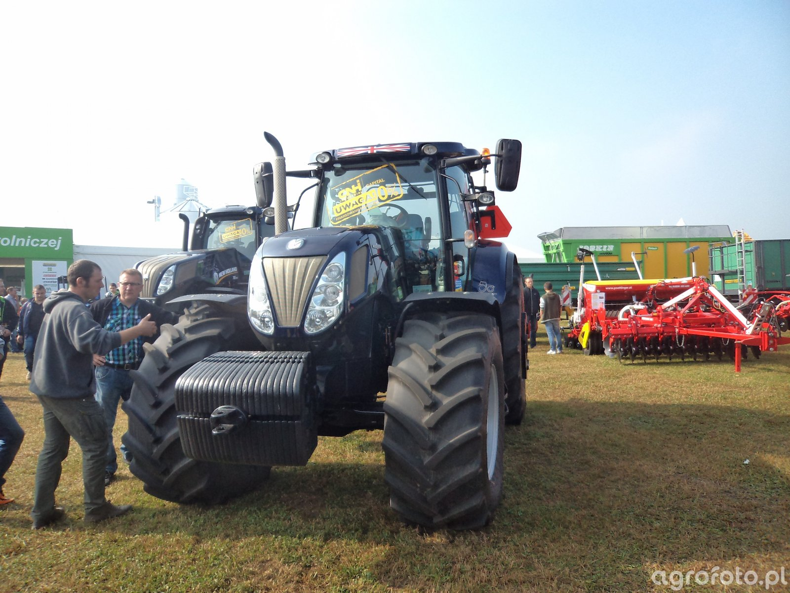 New Holland T7 Blue Power