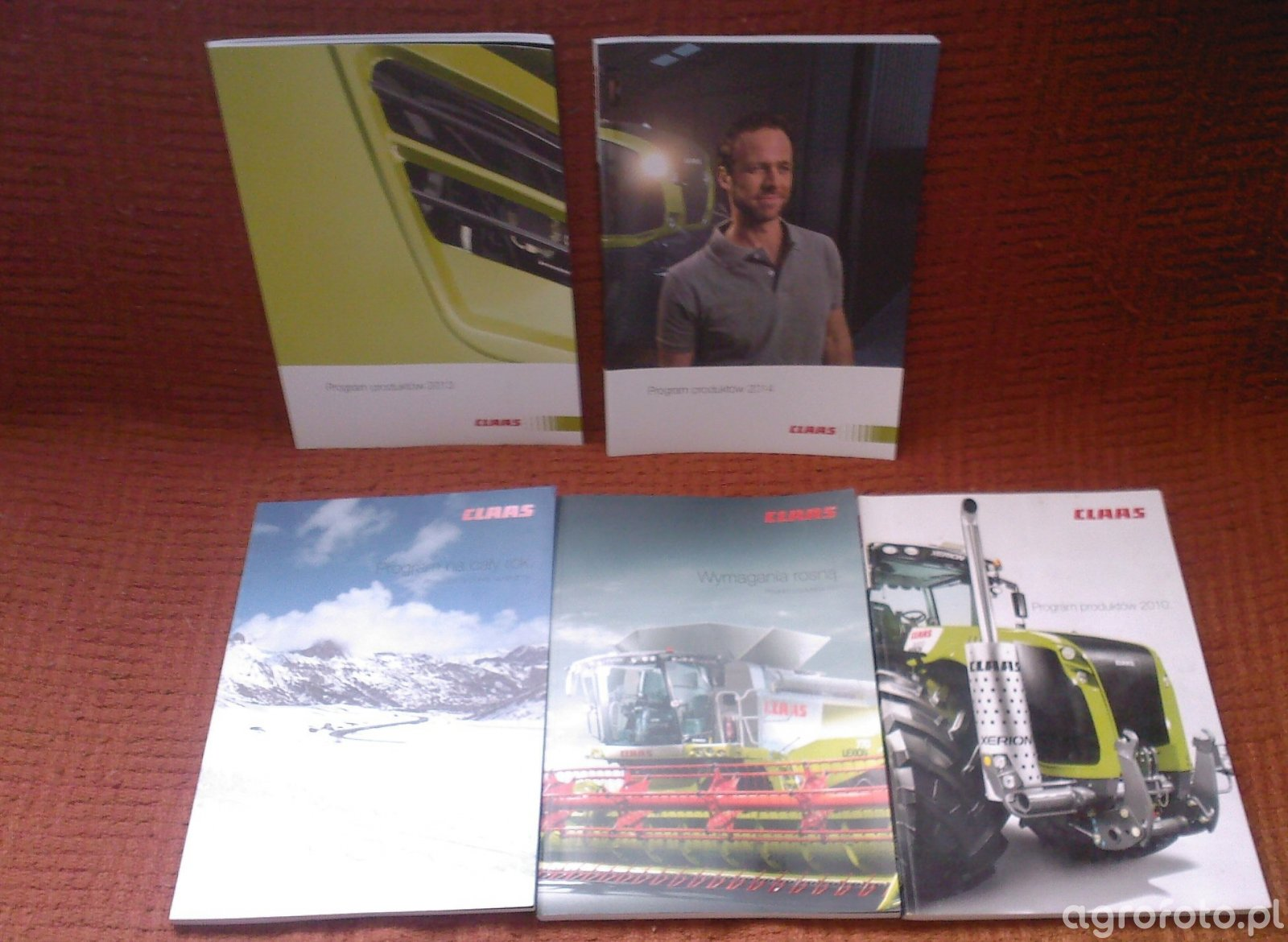 Katalogi firmy Claas