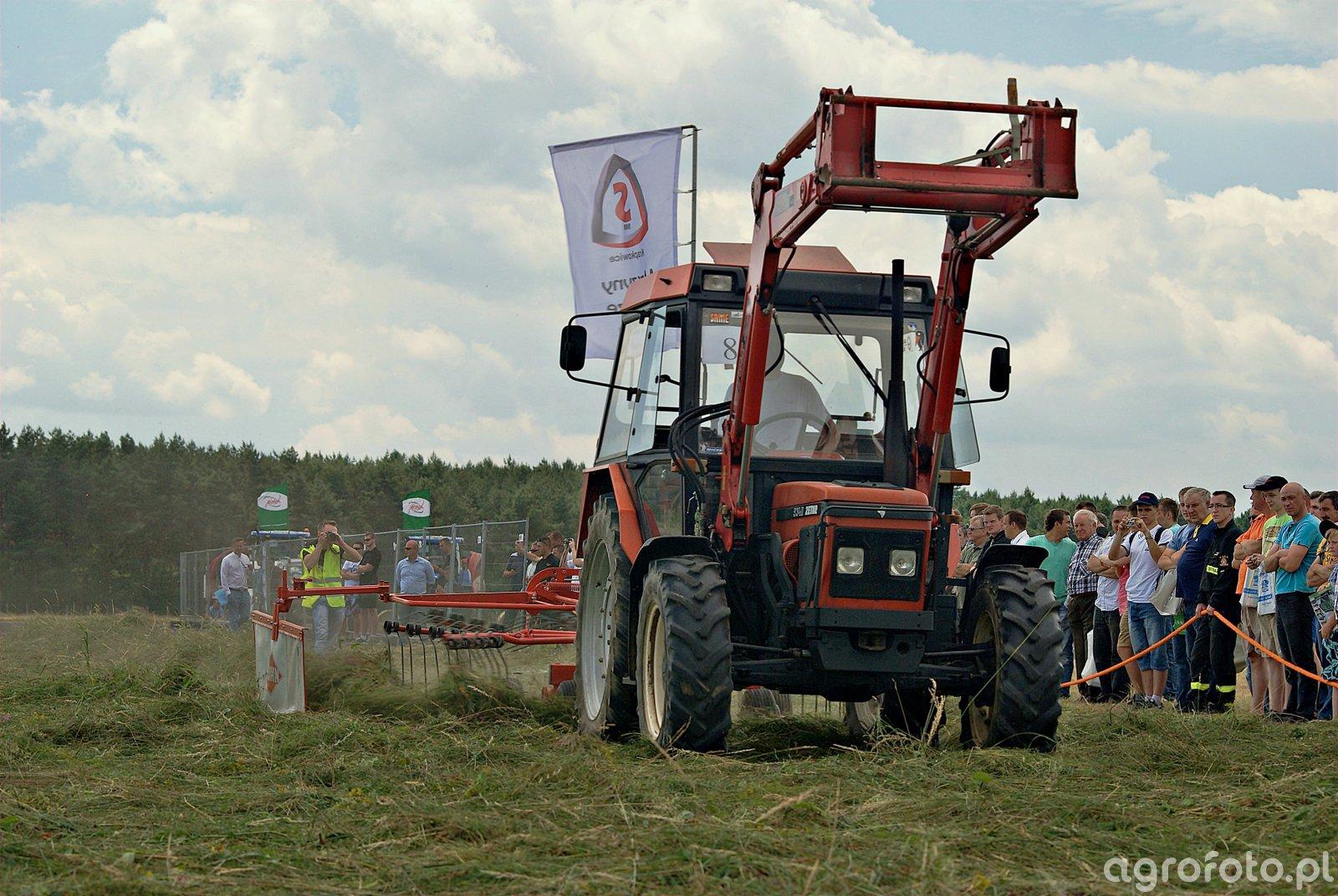 Zetor 5340 + Kuhn GA 4121 GM
