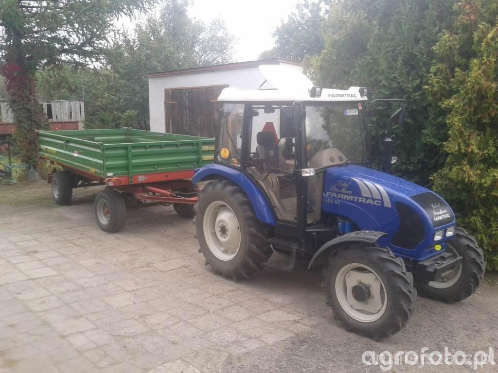 Farmtrac 555DT + Pronar T653