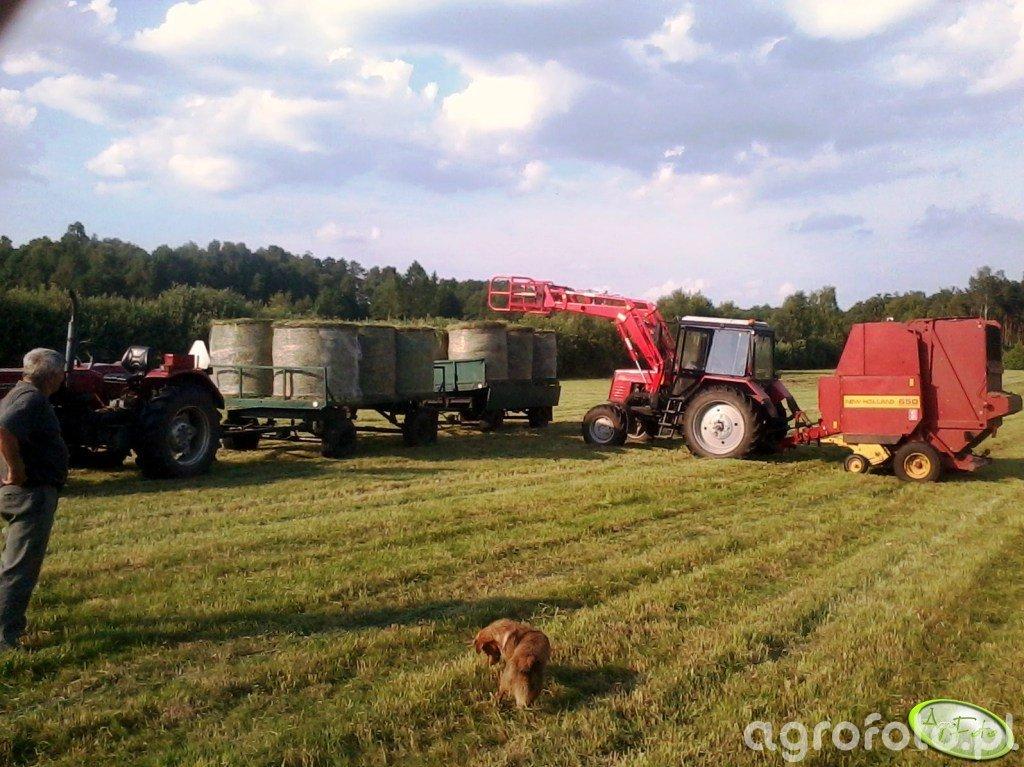 Belarus 820 i spółka.