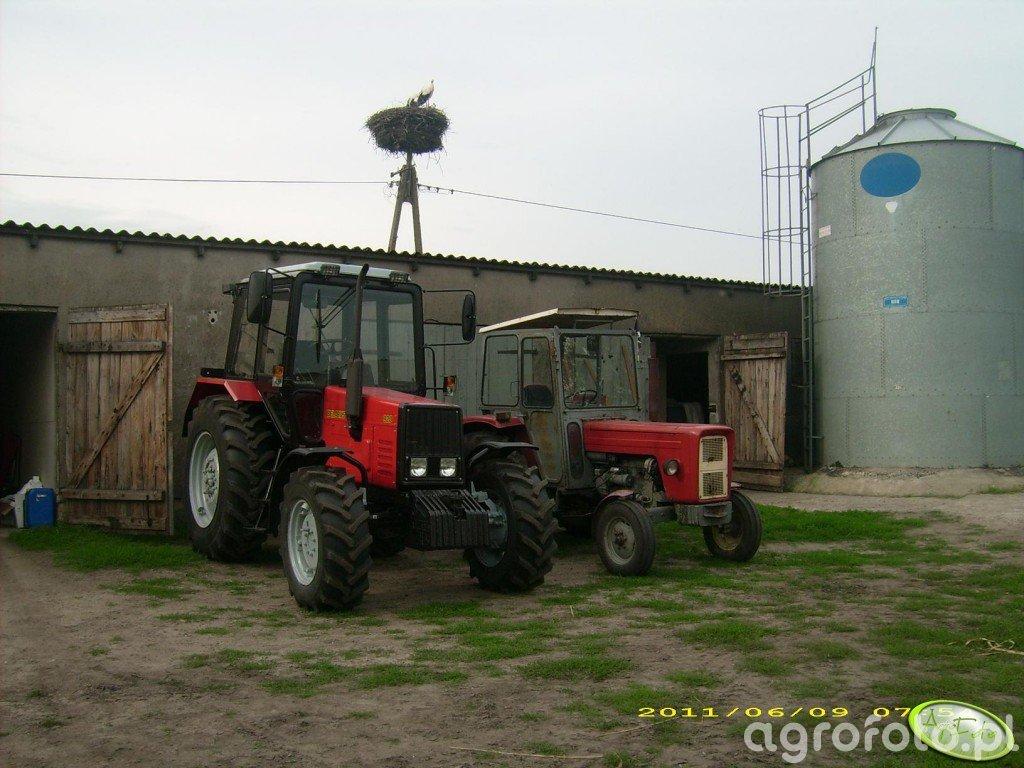 Belarus 920 i Ursus C-360