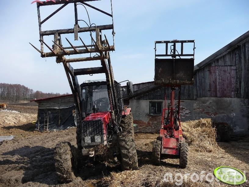 Belarus 952 + Schaffer 217