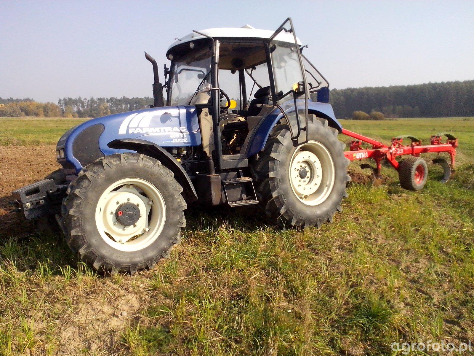 Farmtrac + Unia Tur 4x35