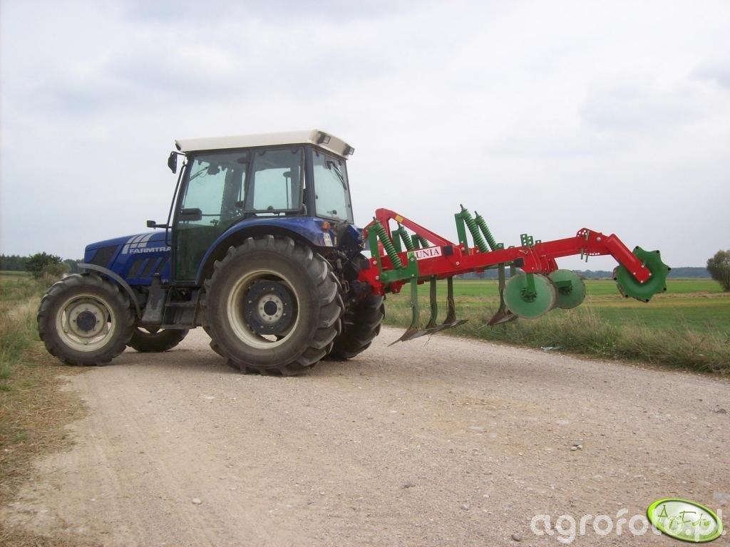 Farmtrac 685DT + Kos