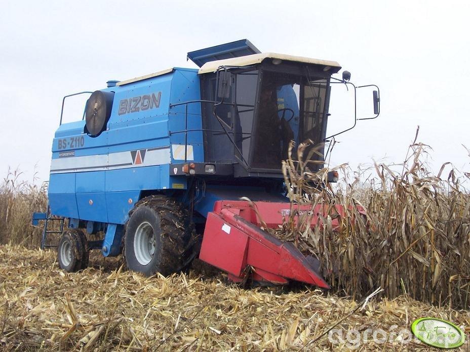 Bizon BS Z110 + Geringhoff