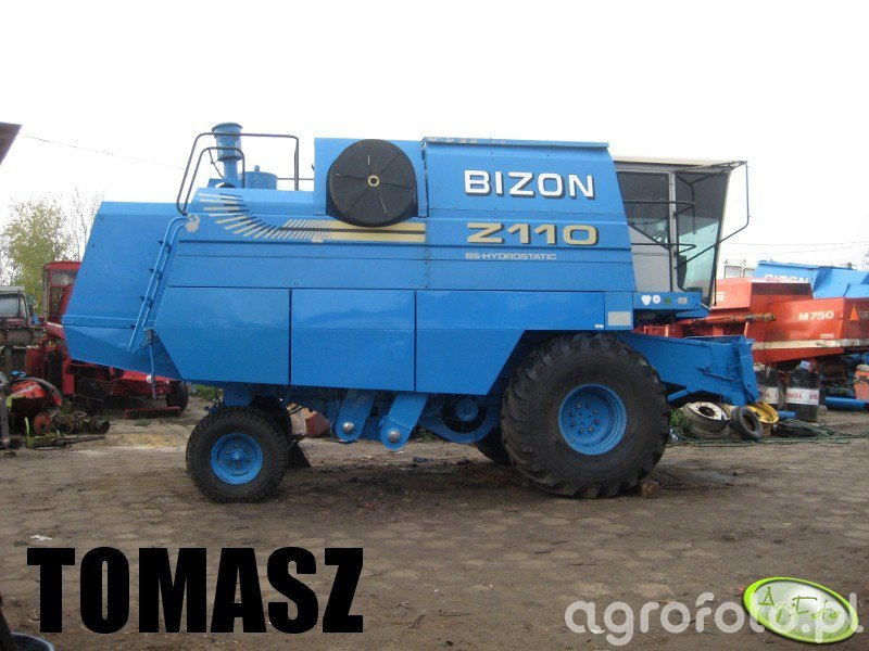 Kombajn Bizon BS Z110 - foto #348559 - Galeria rolnicza agrofoto
