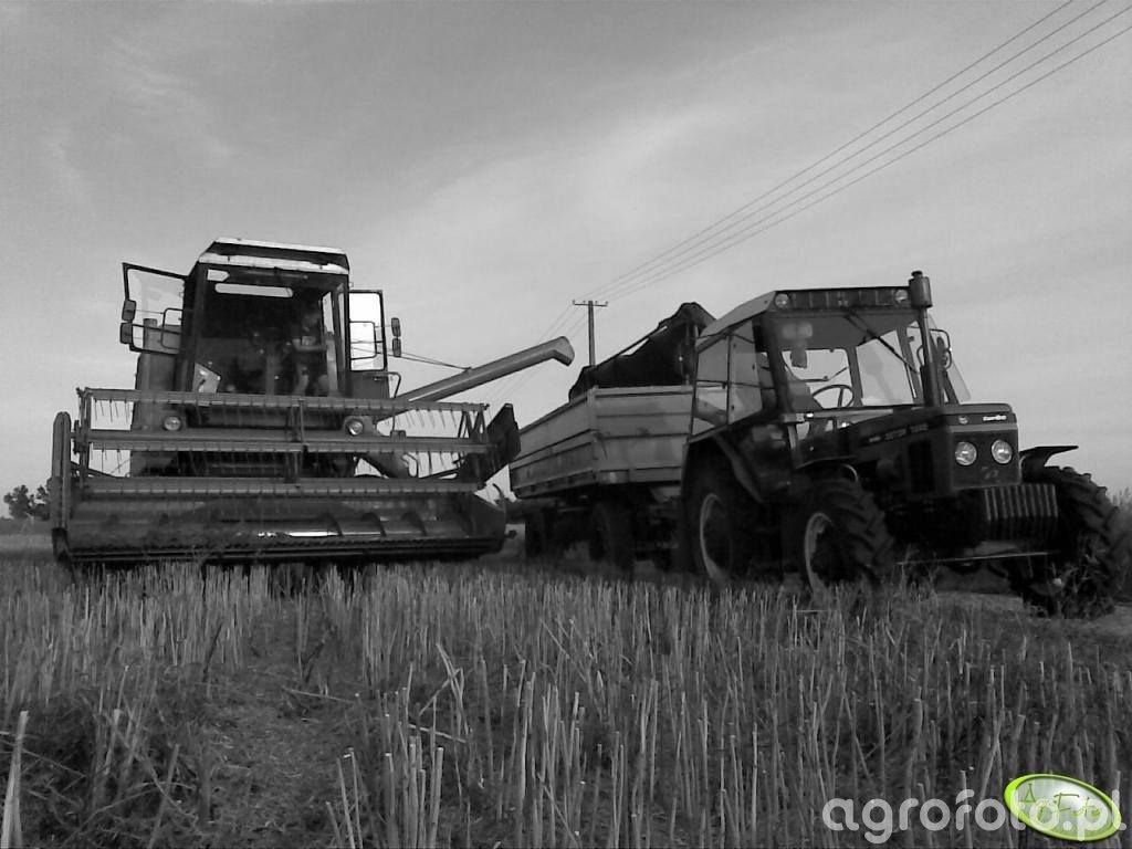 Bizon Z056 i Zetor 7245