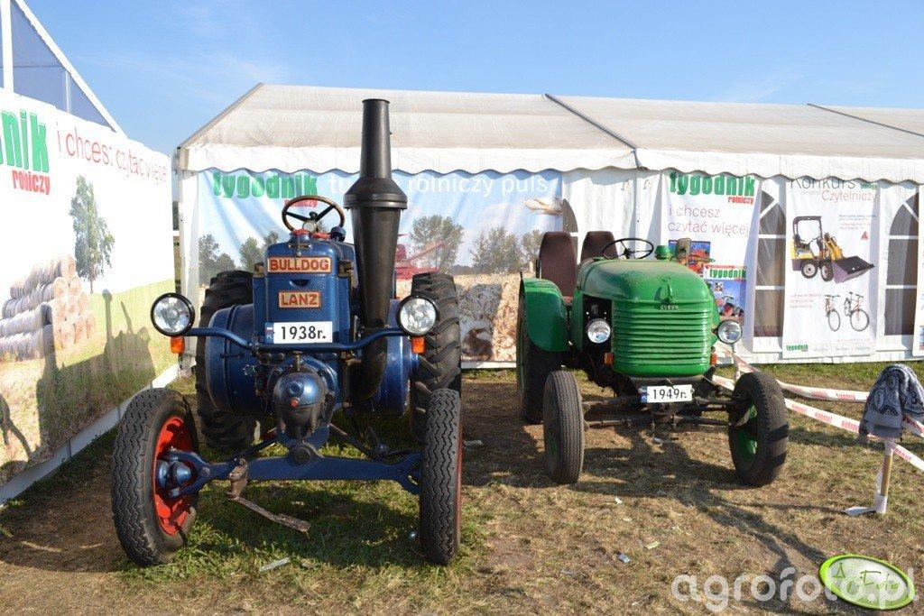 Bulldog - dziadek traktor :)