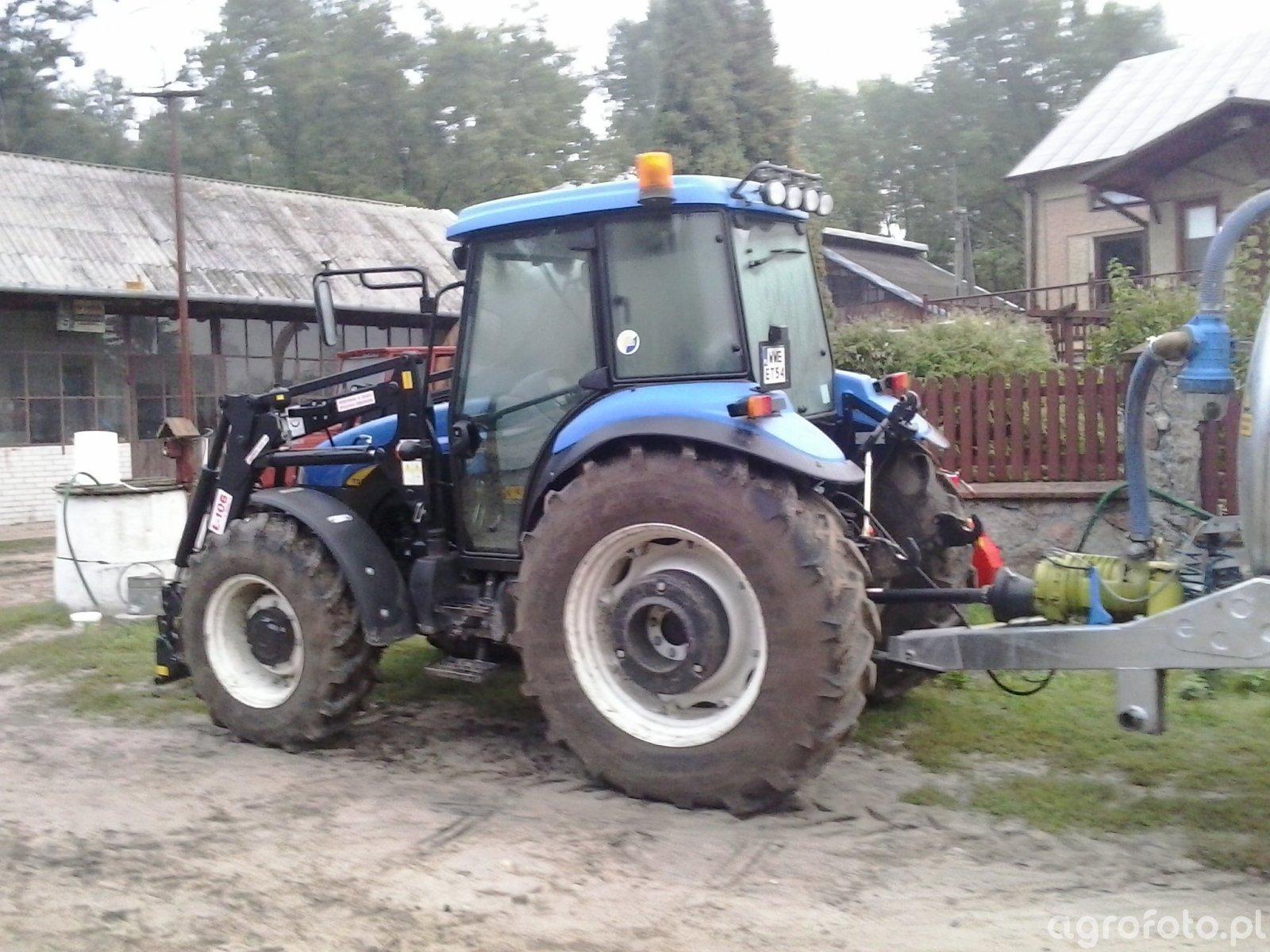 New Holland TD5030+Agromasz Ł106