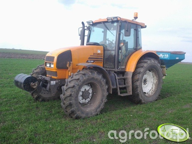 Renault Ares 620rz & Sulky dpx 1503