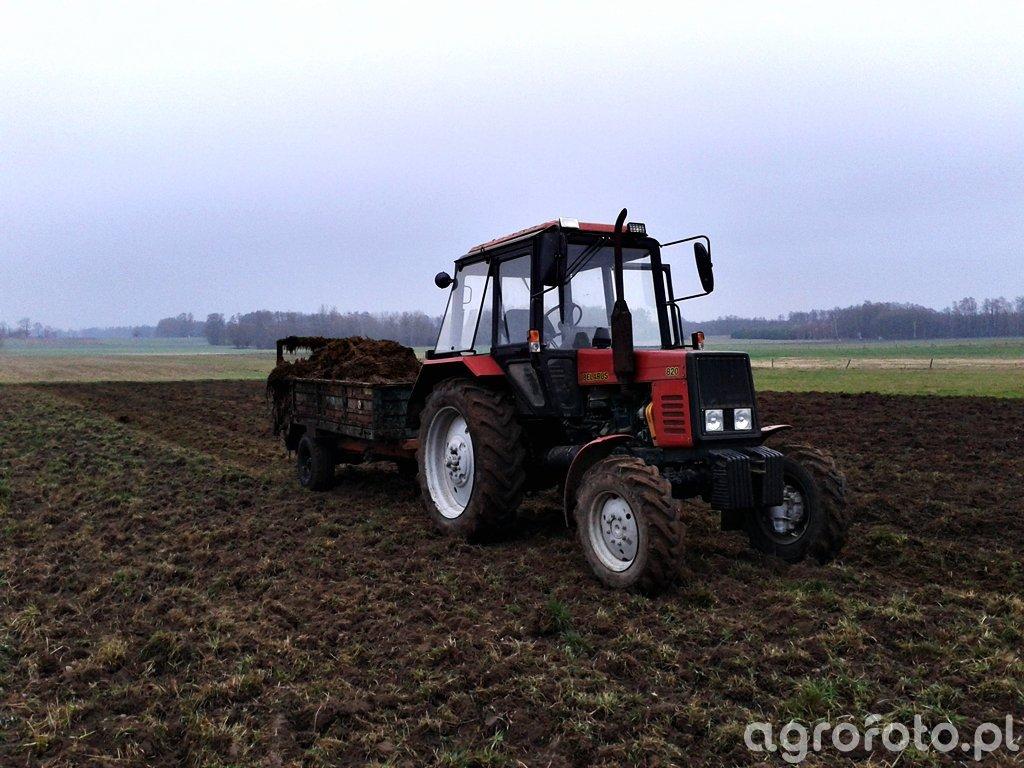 Belarus 820 & Metal-Tech N-243